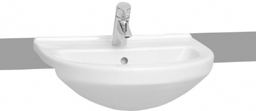 Vitra S50 Semi Recessed Basin 550mm Round